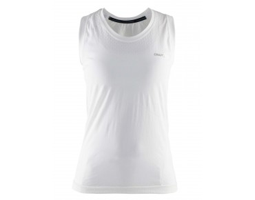 CRAFT COOL SEAMLESS women's singlet white