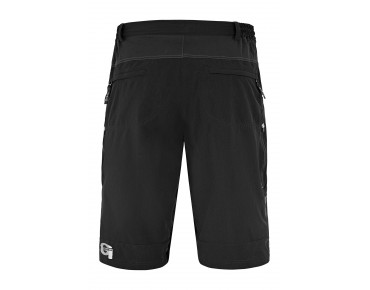 GONSO PALERMO V2 3/4-length bike trousers black