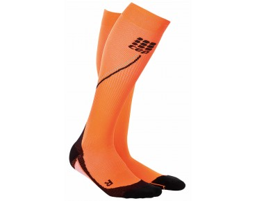 cep NIGHT RUN 2.0 compression socks flash orange
