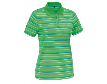 GONSO KLARA Damen Bike-Poloshirt green/blue