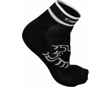 Castelli LOGO socks black/white