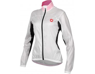 Castelli VELO women's windbreaker white