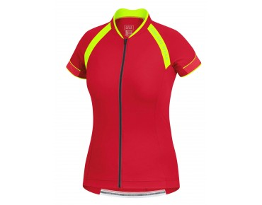 GORE BIKE WEAR POWER LADY 3.0 Damen Trikot rich red/neon yellow