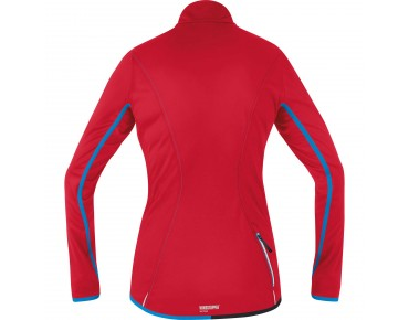 GORE BIKE WEAR COUNTDOWN WINDSTOPPER Soft Shell LIGHT Damen Jacke rich red
