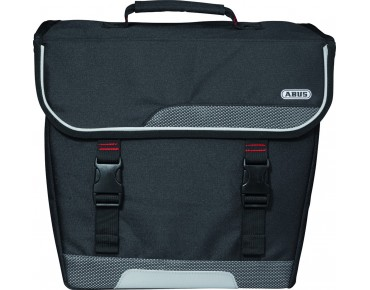 ABUS BASICO ST 5500 KF single bike pannier schwarz