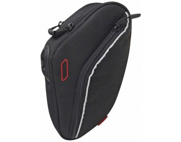 KLICKfix INTEGRA XL saddle bag incl. QUAD MINIBLOC adapter schwarz
