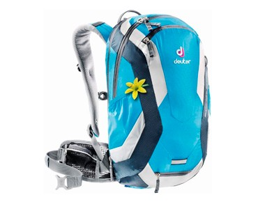deuter SUPERBIKE 14 EXP SL women's backpack turquoise/midnight