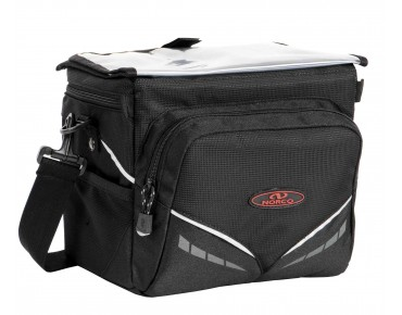 NORCO CANMORE handlebar bag incl. KLICKfix adapter black