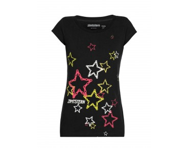 Zimtstern STARS AND CHAINS 14 Damen T-Shirt black
