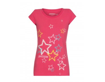 Zimtstern STARS AND CHAINS 14 Damen T-Shirt framboise