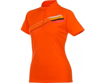 ziener CAJA Damen Bikeshirt poison orange
