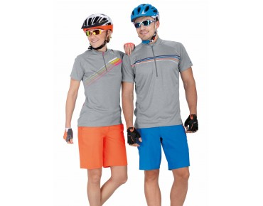 ziener CINDA Damen Bike Shorts poison orange