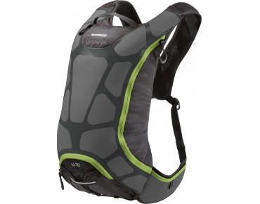 SHIMANO UNZEN 15 hydration pack charcoal/electric green
