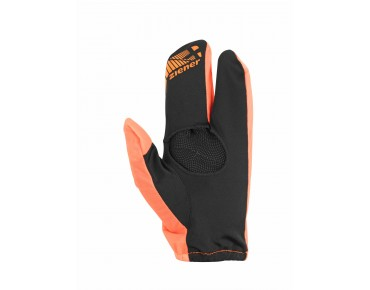 ziener COVERS outer gloves poison orange