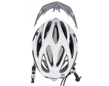 ROSE PACER II helmet matte white/grey