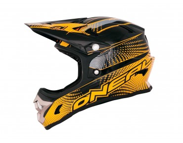 O´NEAL FURY EVO Integral Helm flyer black/neon orange