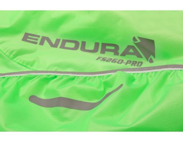 ENDURA ADRENALIN RACE waterproof jacket lime green