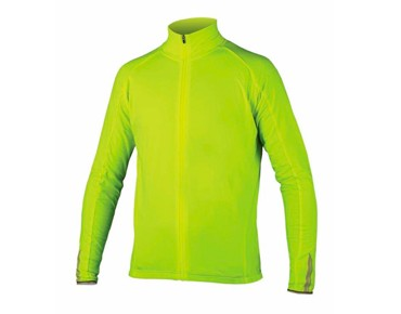 ENDURA ROUBAIX long-sleeved jersey day-glo yellow