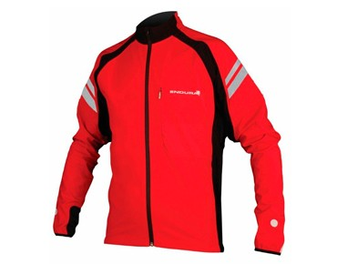 ENDURA WINDCHILL II windbreaker red