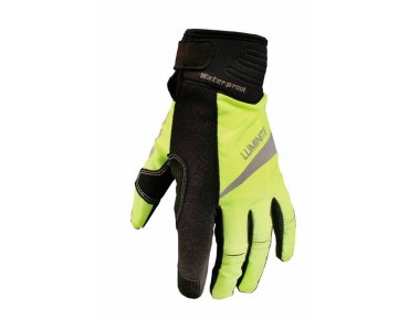 LUMINITE winter gloves neon yellow