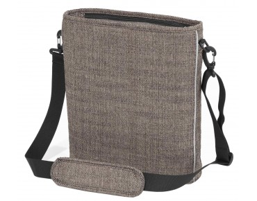 Racktime SIDE TWO shoulder bag urban brown