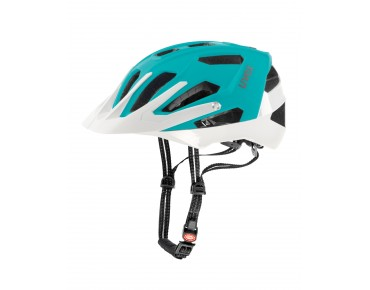 uvex quatro Damen Helm lightblue mat/white