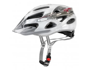 uvex onyx women's helmet white/red
