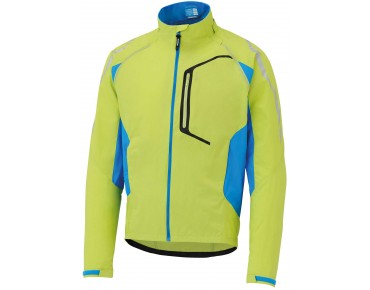 SHIMANO HYBRID windproof cycling jacket electric grün