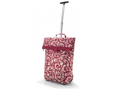 Reisenthel TROLLEY M pannier baroque ruby