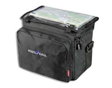 KLICKfix DAYPACK BOX handlebar bag incl. adapter black