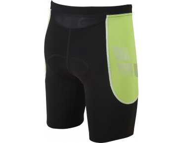 Arena ST Triathlon Shorts black/green