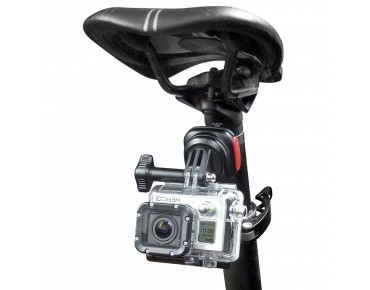 KLICKfix CAM ON! quick release mount for Gopro camera schwarz