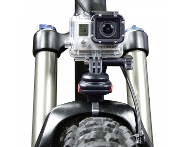 KLICKfix CAM ON! quick release mount for Gopro camera black