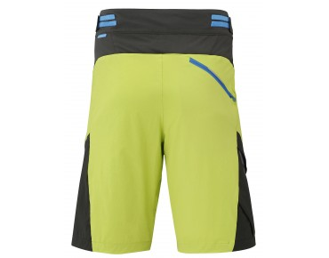 SHIMANO EXPLORER bike shorts electric green