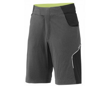 SHIMANO EXPLORER bike shorts charcoal