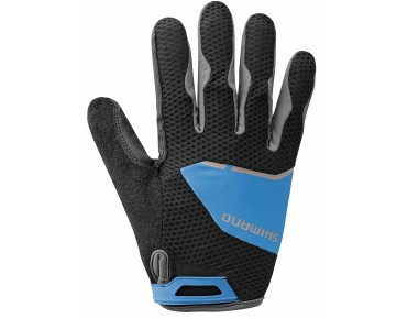 SHIMANO EXPLORER full finger gloves lightning blue