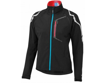 SHIMANO HYBRID women's windproof cycling jacket schwarz