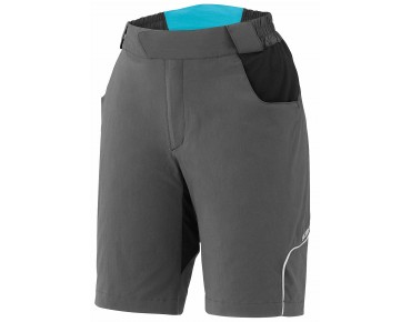 SHIMANO TOURING women's bike shorts charcoal