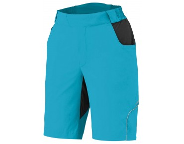 SHIMANO TOURING women's bike shorts emerald green
