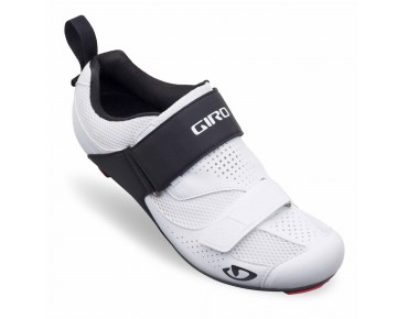 GIRO INCITER TRI Triathlonschuhe white/black