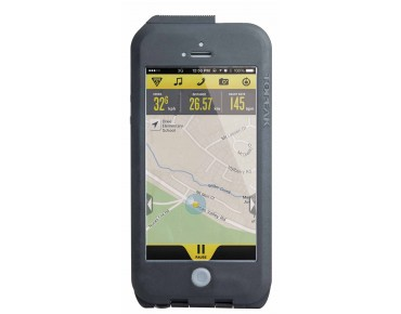 Topeak Weatherproof RideCase for iPhone 5/5s/SE black/grey