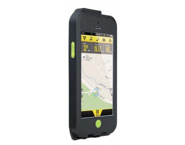 Topeak Weatherproof RideCase für iPhone 5/5s/SE black/green