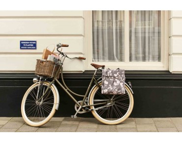 BASIL ELEGANCE SHOPPER 24 l bicycle bag for women taupe