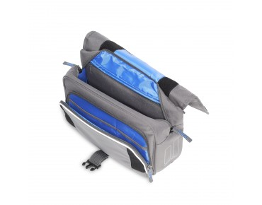 BASIL SPORT DESIGN FRONT BAG stuurtas grey