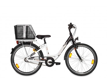 BASIL CLASS rear bicycle basket black