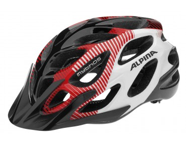 ALPINA MYTHOS MTB-helm black/red