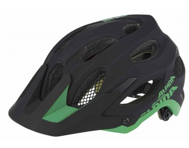 ALPINA CARAPAX - casco MTB black/green