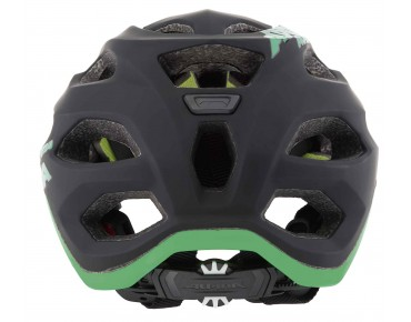 ALPINA CARAPAX MTB-helm black/green
