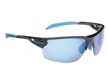 ALPINA TRI SCRAY sports glasses black/cyan