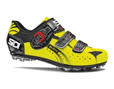 SIDI EAGLE 5 FIT MTB shoes black/yellow fluo